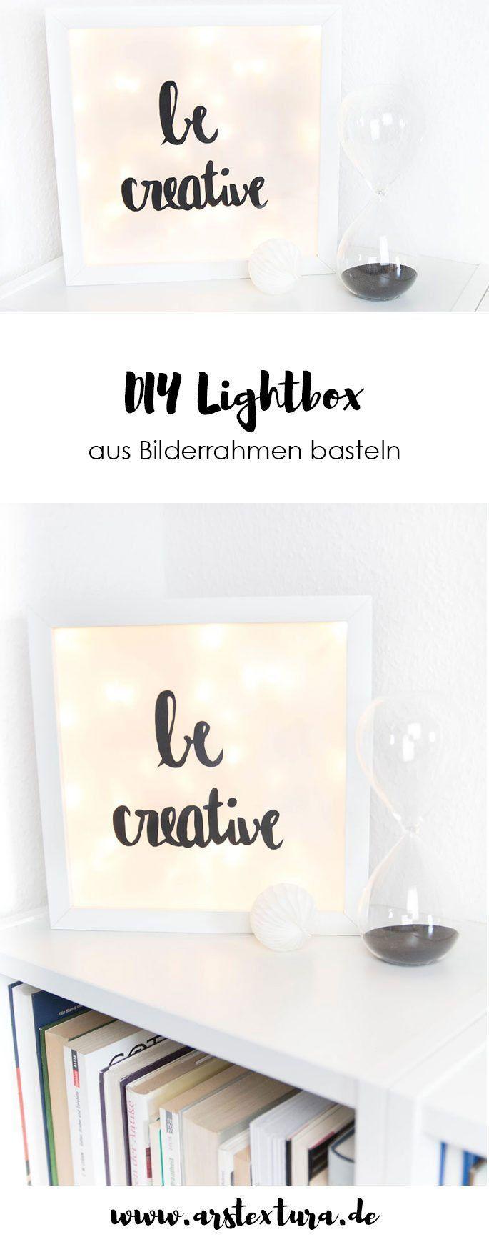 Eine kleine DIY Lightbox