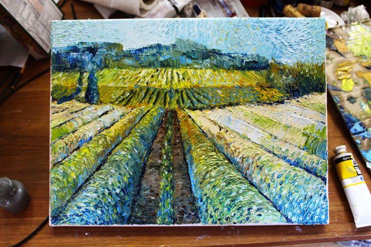Un paysage de Provence