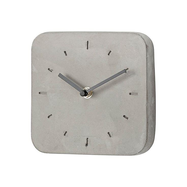 Cardea Wall Clock 15 cm, Grey, Lene Bjerre