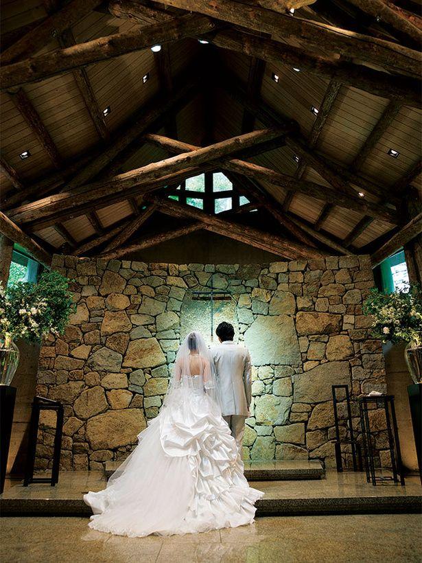 イサム・ノグチが愛した庵治石でできた「石彩の教会」