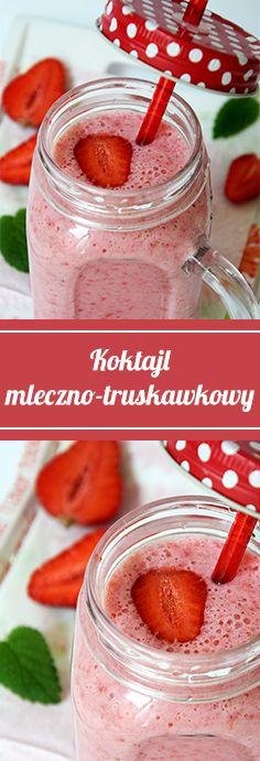 Kto się skusi na domowy #jogurt mleczno- truskawkowy?   #poprostupycha #mleko #truskawka