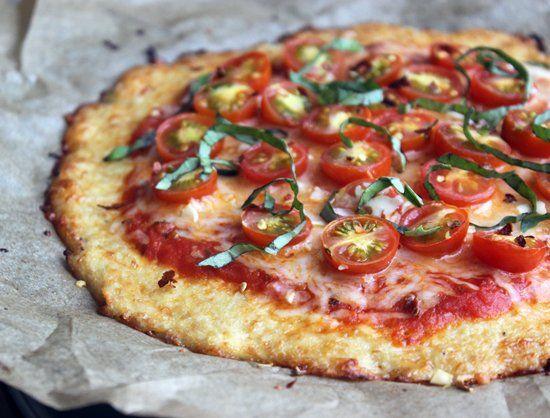 Cette Pizza Faite à Base de Chou-Fleur est Délicieuse, Gluten Free, et Peu Calorique