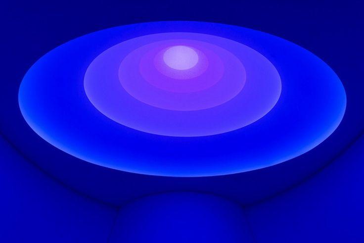 L'installazione di James Turrell per il Solomon R. Guggenheim Museum a New York.