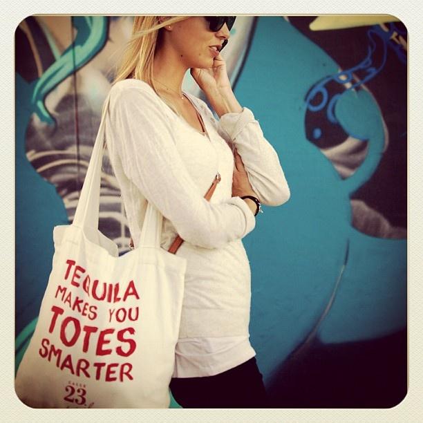 Totes Smarter at Bondi #tequila #blonde #atbondi #bondi #tote #bag #sydney