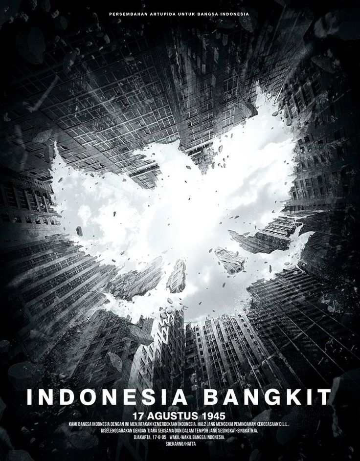 Indonesia Bangkit … 17 Augustus 1945