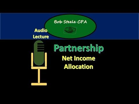 1200.20 Partnership Acclamation Net Income to Capital Accounts
