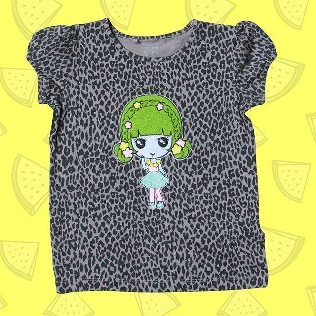 T-shirt peppet op med den yndigste pige 😀 #starstuffdk #pigemode #lovely #girly #strygemærker #mestforbørn #diy #love #forår #spring #dagensfoto #photoofday #instagoods #instagood