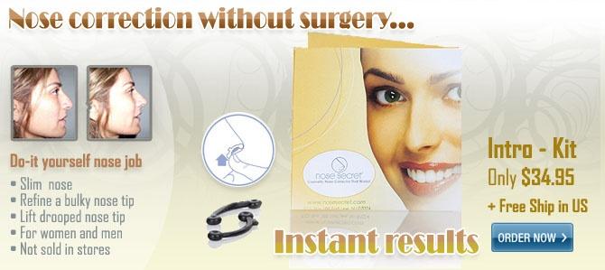 Nose Jobs - Non Surgical Nose Job - Nonsurgical Nose Job - Nose Secret