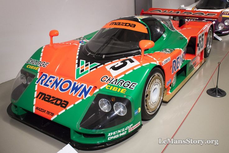 Mazda 787B 1991 Ultimate Racing History Le Mans Car Museum