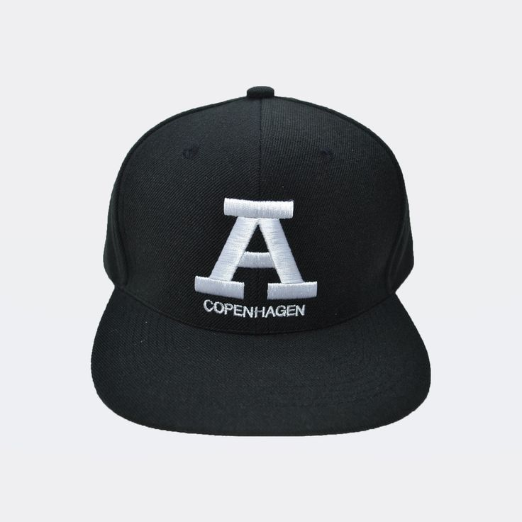 Unisex - A Copenhagen Snapback - White A http://www.audace.dk/collections/caps/products/a-copenhagen-snapback-hvid