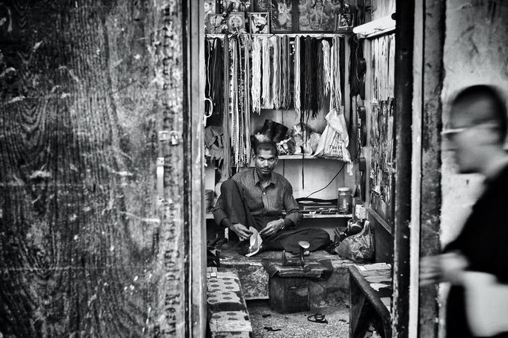 Cobbler Plying his Trade in #Thimphu #Bhutan