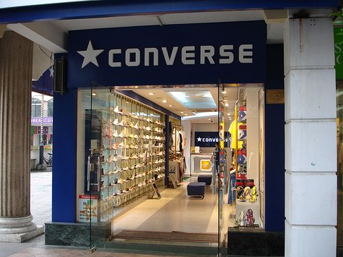 Hold up a Converse Store.... greatest plan yet.