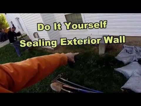 How To Waterproof Your Exterior Foundation Wall DIY for Homeowners - YouTube