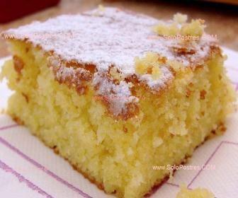 Torta riquísima de naranja / Es una torta distinta pues una vez terminada se baña con almíbar de naranja, dejándola bien húmeda y más parecida a un postre.