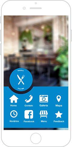 Criar app com criador de aplicativos