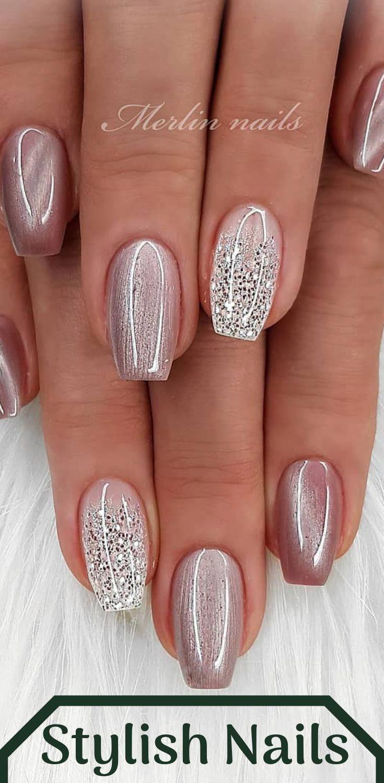 Schau dir diese atemberaubenden Nägel an! #NailDesignsfall – Nail Designs fall