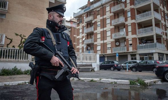 Police arrest 170 of 'world's most dangerous mafia outfit' HELL-BENT on taking over globe