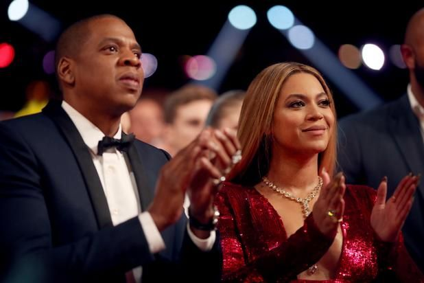 Sir & Rumi make their debut, sort of. Five months ago, Beyonce and Jay-Z's newest additions to the family managed to break the internet without ever showing their faces. Aside from the photo shoot that took place shortly after their birth, Sir and Rumi Carter, in true Carter fashion, remain co...