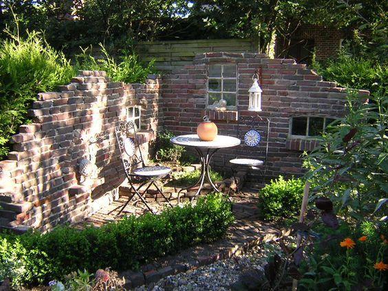 Gartenmauern Gestalten Ideen|Neue Quotaltequot Mauer Bilder Und Fotos Garten Pinterest Ruinen