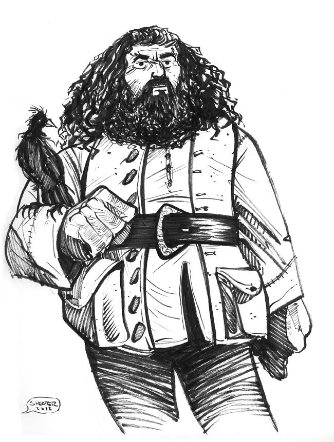 212 best images about Rubeus Hagrid on Pinterest ...