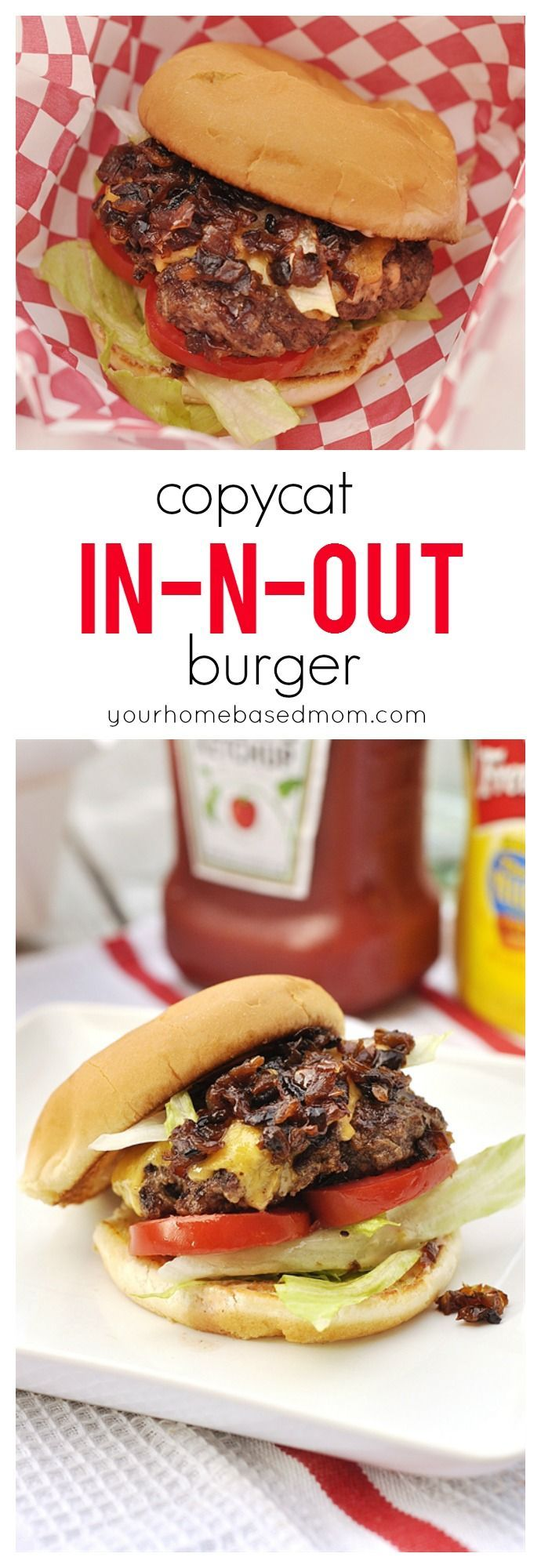 Copycat In-n-Out Burger is so easy to make at home and we think they are better than the real thing!