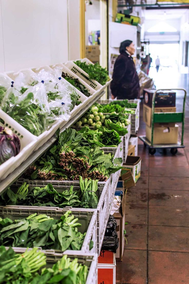 Fresh produce at the Inala Civic Centre | heneedsfood.com
