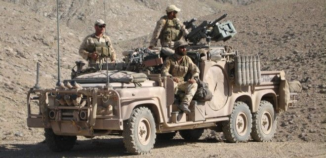 Special Operations Task Groups Long Range Patrol Vehicles. Land Rover 6X6. Australian SAS or 1st Commando Regiment?