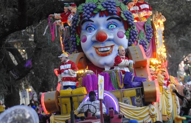 Its time for Mardi Gras! The Krewe of Bacchus rolls in New Orleans! Get the full parade schedule here.