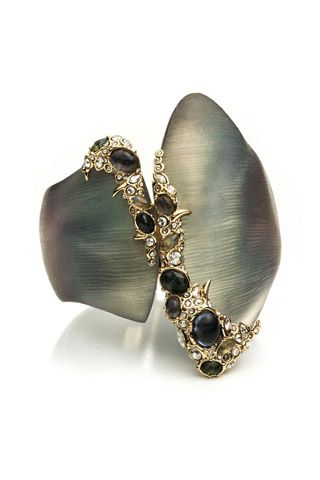 Alexis Bittar=Love. Is that mother of pearl? I love mother of pearl.
