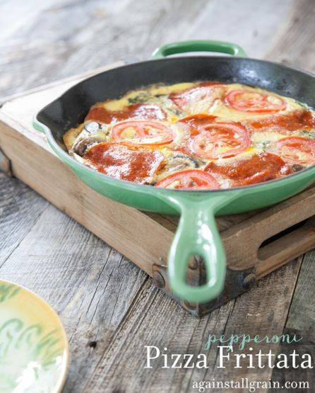 Pizza Frittata - Danielle Walker's Against All Grain