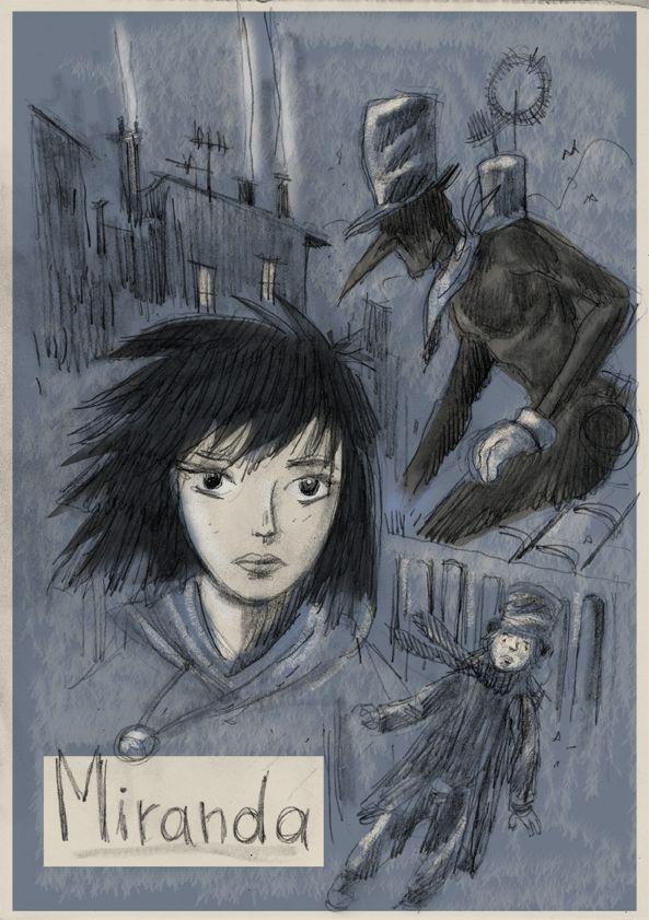 Studi per un progetto di graphic novel ai confini con il fantasy.