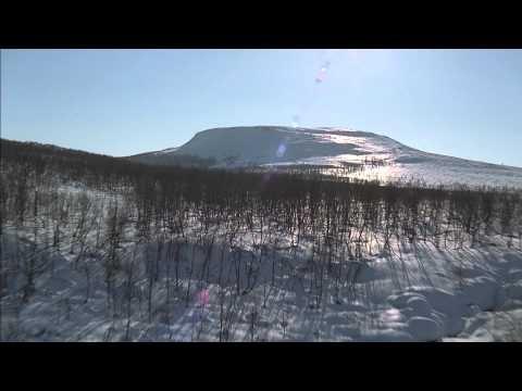 Kilpisjärvi in Lapland by air
