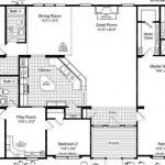 Mobile Home Floor Plans Triple Wide