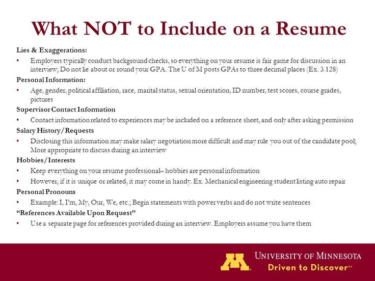 50 things to put on your resume zt9m resume fair games