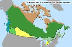 First Peoples of Canada - great website for Social Studies