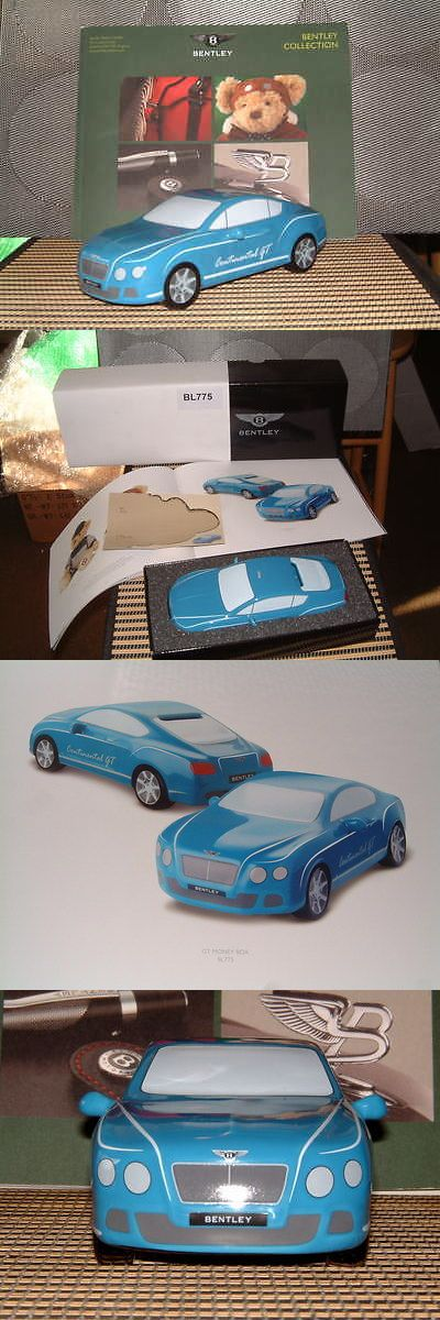 Bedroom Playroom and Dorm D cor 115970: Bentley Collection Ceramic Continental Gt Model Bank In Blue. Great Gift! Nigb! -> BUY IT NOW ONLY: $57 on eBay!