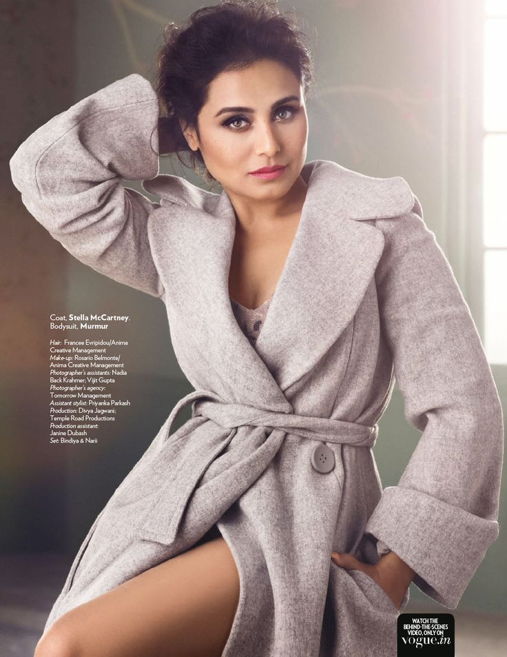 Smile: Rani Mukerji in Vogue India August 2015 by Signe Vilstrup