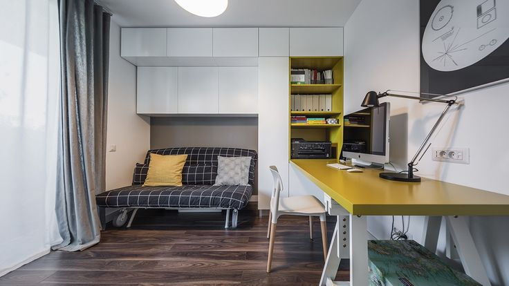 Light And Charming Decor In A Compact 1-Bedroom Apartment