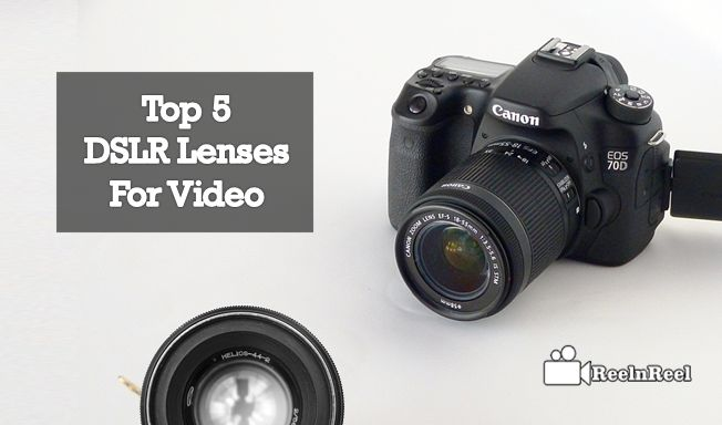 Top 5 DSLR Lenses For Video. DSLR professional cameras without the good lens it does mean for professional.