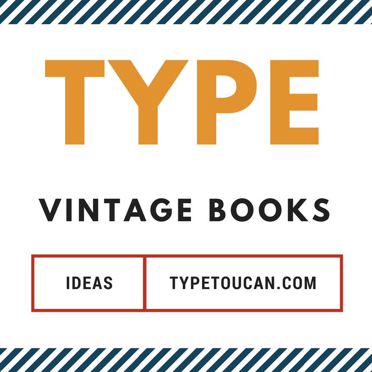 39 best type vintage books images on pinterest lettering sign cover of my vintage type board malvernweather Gallery