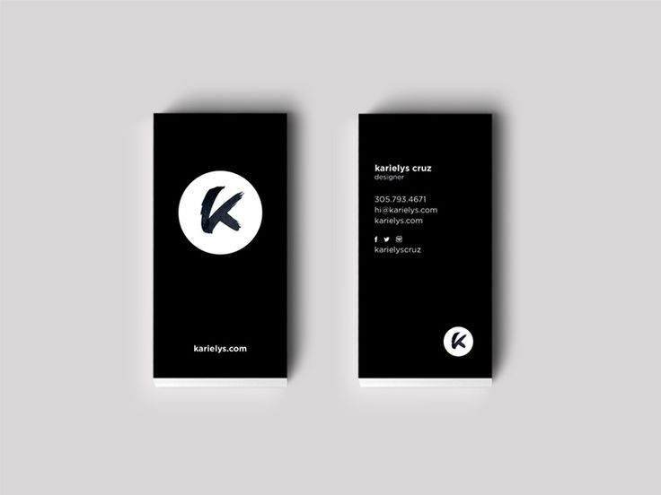 Graphic Design Business Ideas black white modern business card Business Cards