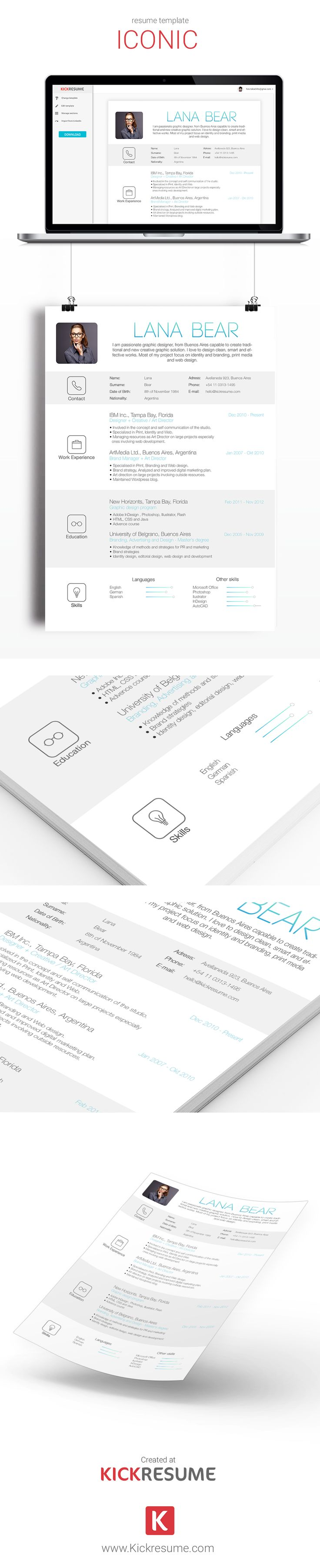 18 best kickresume templates gallery  resume samples