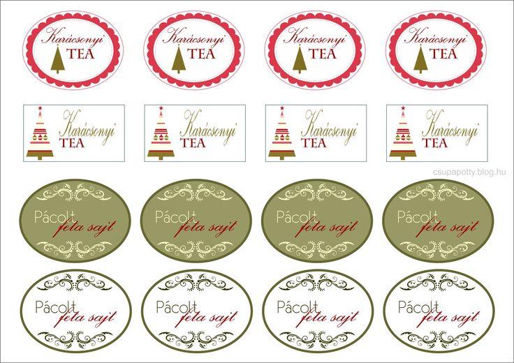 karácsonyi ajándék kísérő címke - Google keresés