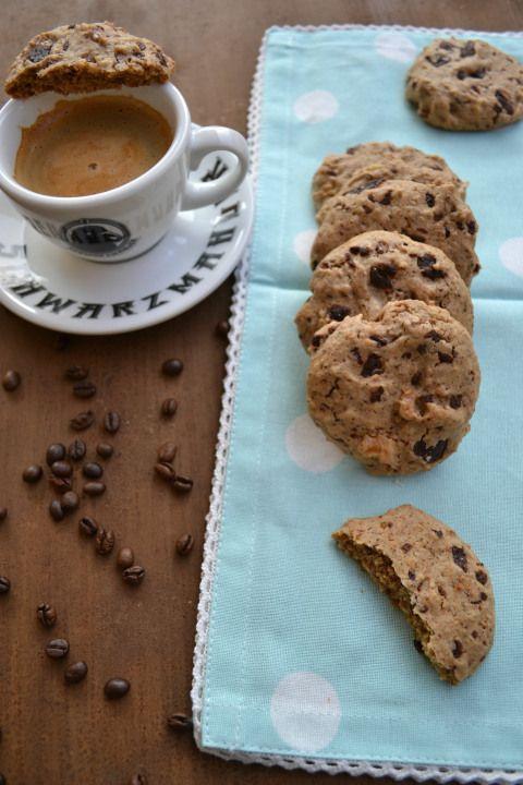 walnut Coffee Cookies