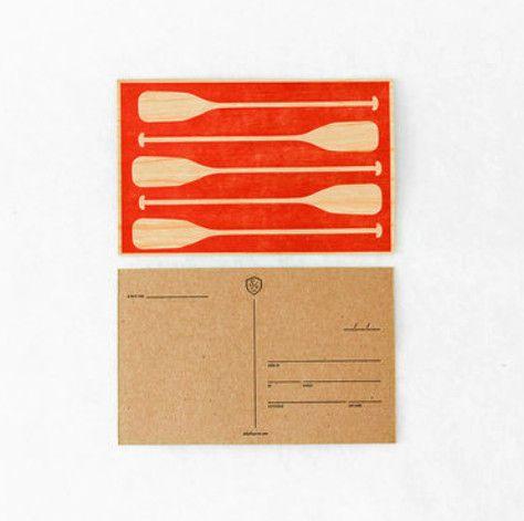Paddles Postcard, Sideshow Press
