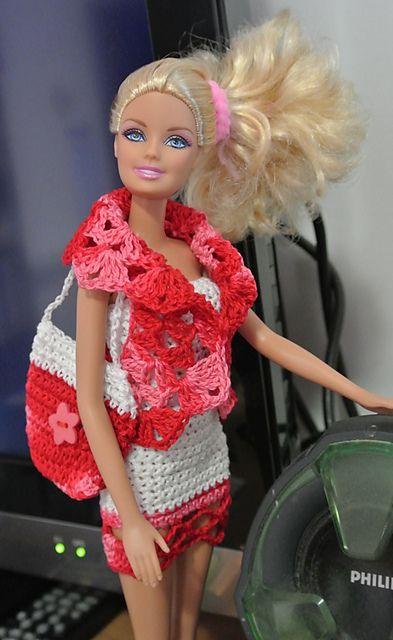Ravelry: completo corto di Barbie pattern by anna maria