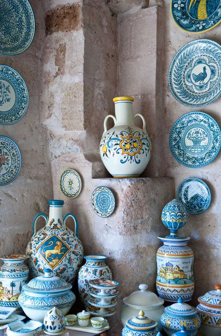 Keramikkunst aus Grottaglie, Provinz Tarent #weareinpuglia Copyright: Giuseppe Masci/iStock/Thinkstock