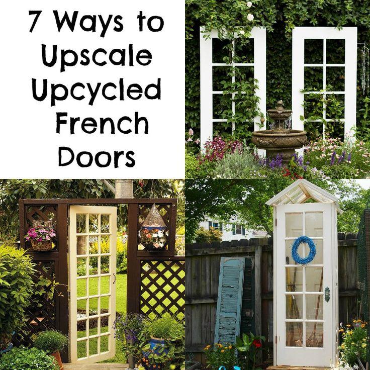 7 Ways to Upscale Upcycled French Doors