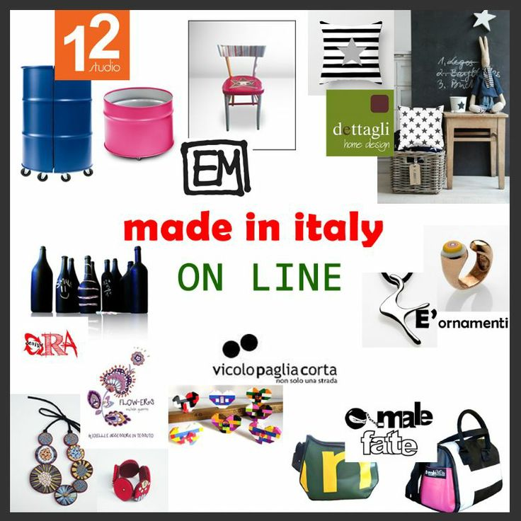 Made in Italy ON LINE http://www.depabo.it/blog/il-made-in-italy-protagonista-su-depabo-ideas.html