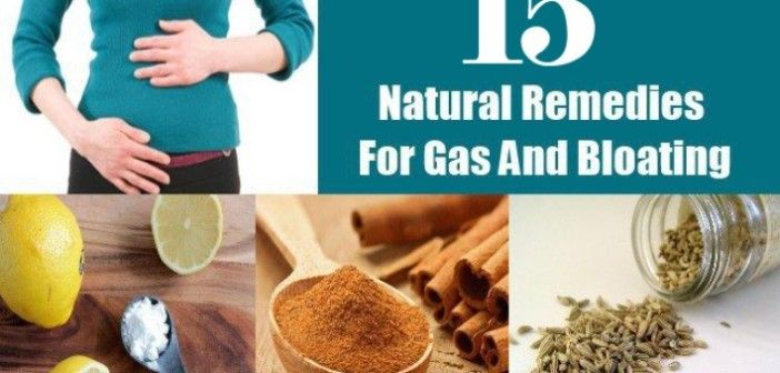 Top 15 Home Remedies for Gas and Bloating Problems